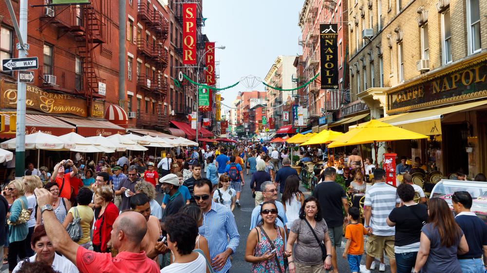 The Best Restaurants In Little Italy Walks Of New York