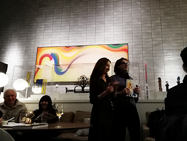 Autors presenting their book Let Go! The Artist's Way of Cooking the best cooking book of 2019