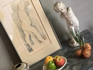 Visit to Cezanne's studio during our painting workshops provence france