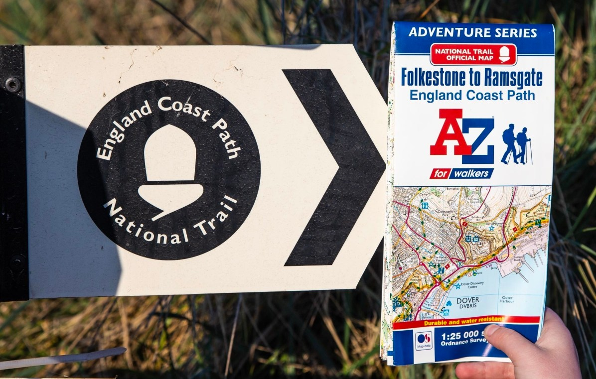 Best Maps for Walking the England Coast Path