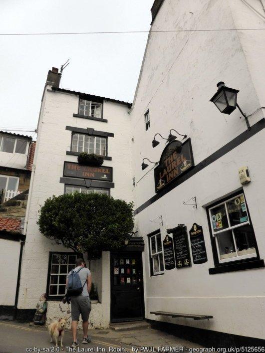 The Laurel Inn, Robin Hood's Bay Robin Hood's Bay's smallest pub