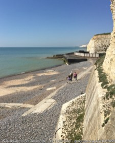 Walking west from Telscombe Cliffs to Brighton