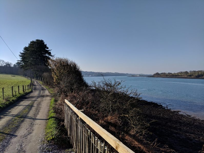 Walk the Wales Coast Path from Menai Bridge to Caernarfon