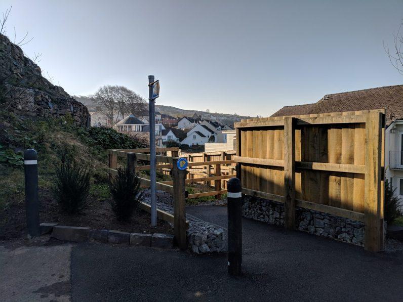 Walk the Wales Coast Path from Menai Bridge to Caernarfon