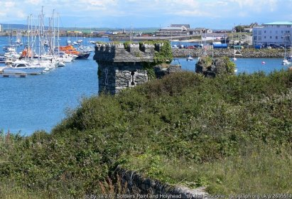 Soldiers Point and Holyhead Marina