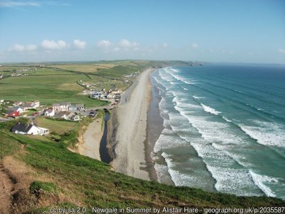 Newgale in Summer