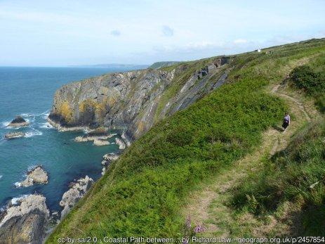 Coastal Path between Hatling Bigni and Pencestyll