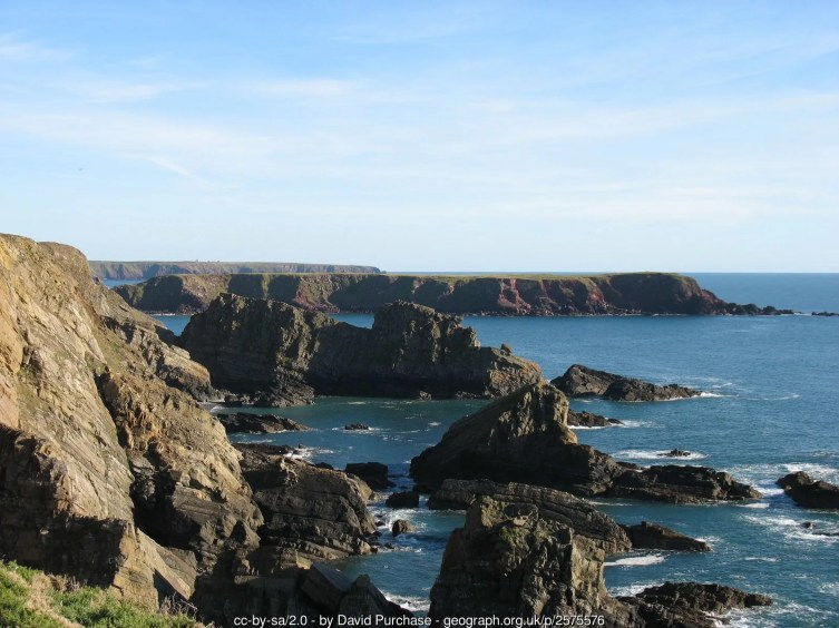The Pembrokeshire coast south of Martin's Haven