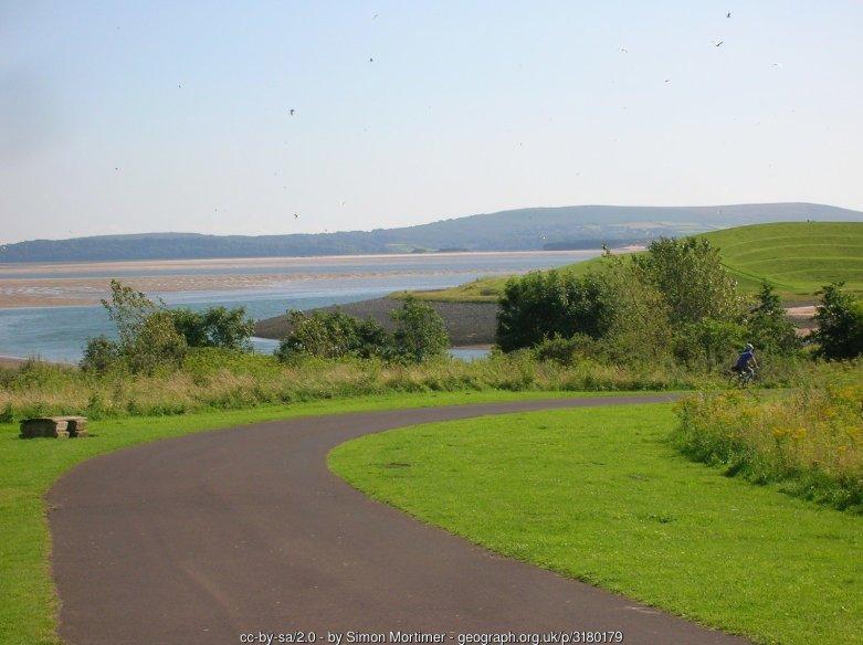 Wales Coast Path near Tywyn Bach, Pwll