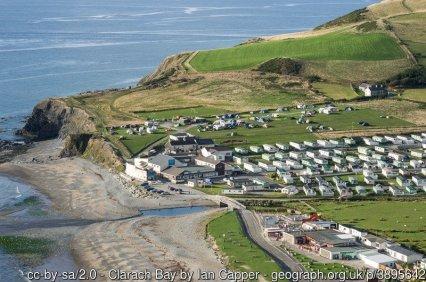Clarach Bay Caravans and leisure facilities at Clarach Bay.