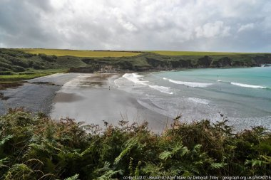 Beach At Aber Mawr