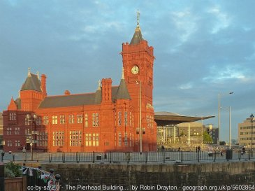 The Pierhead Building, Cardiff Bay