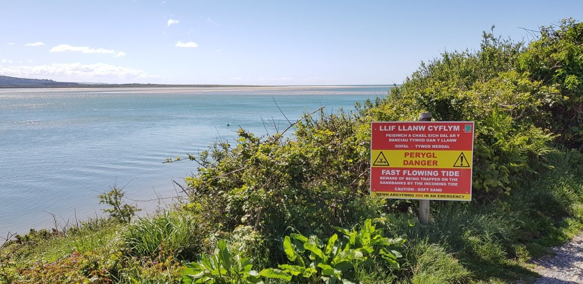 Wales Coast Path Safety