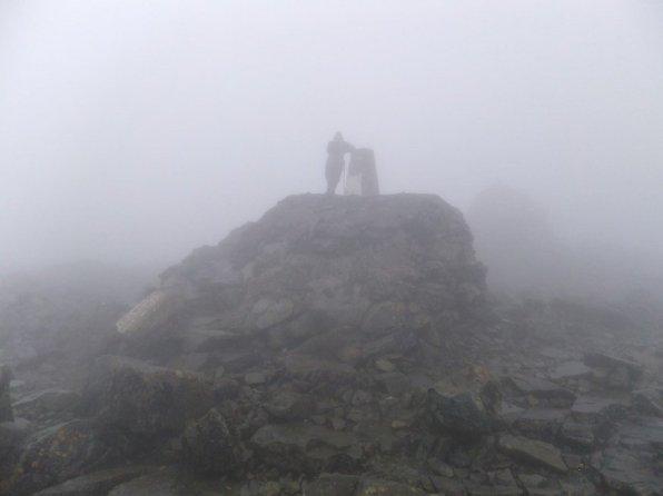 Mountain Track up Ben Nevis