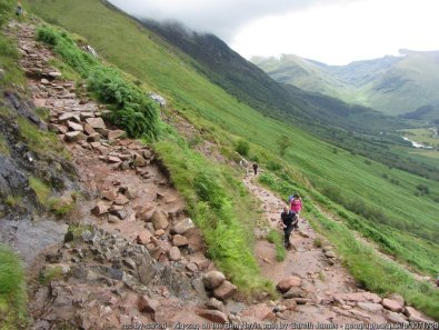 The Mountain Track up Ben Nevis