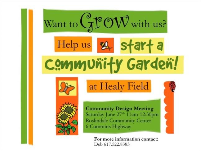 Friends of Healy Field Flyer