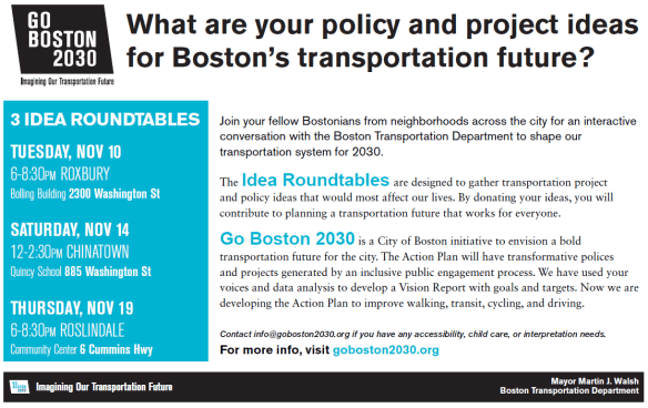 Go Boston 2030 Roundtable Invite