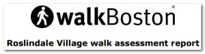 WalkBoston Walk Audit Header