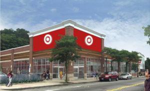 Rendering of Expected Roslindale Target Store