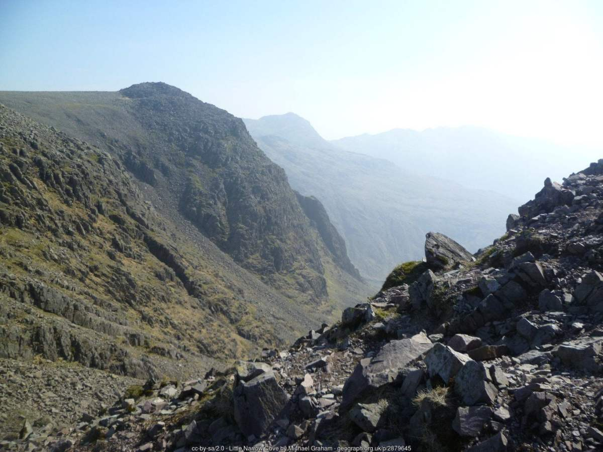 Scafell Pike via Cam Spout From Hardknott Pass