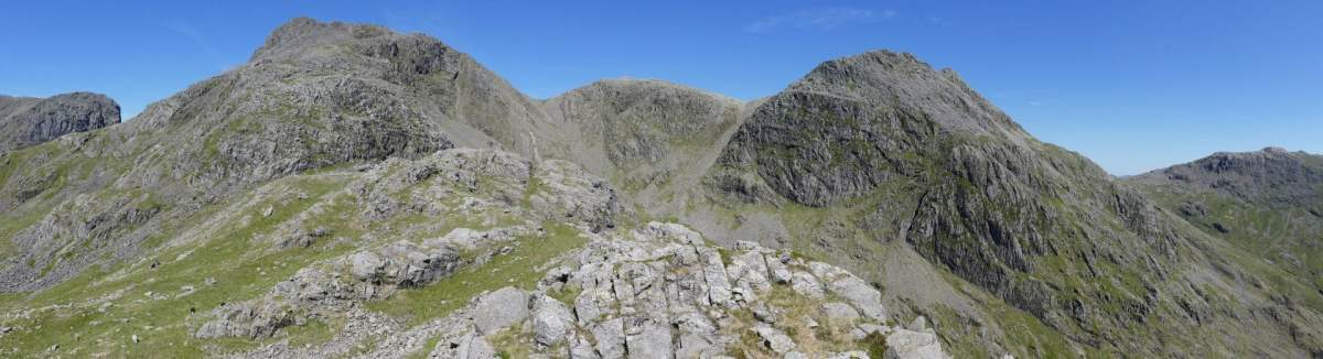 Scafell Pike From Eskdale and Boot - via Pen