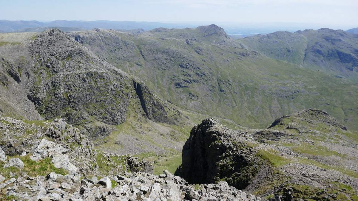 Circular Routes up Scafell Pike