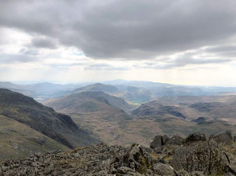 Classic Lake District Walks - Bowfell via Crinkle Crags from Great Langdale