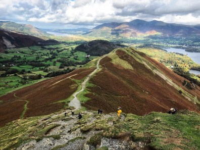Classic Lake District Walks - Walk up Catbells