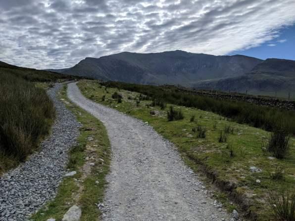 Walk up Snowdon Via the Snowdon Ranger Path