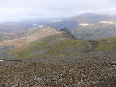 Walk up Snowdon Via the Llechog Ridge from Llanberis