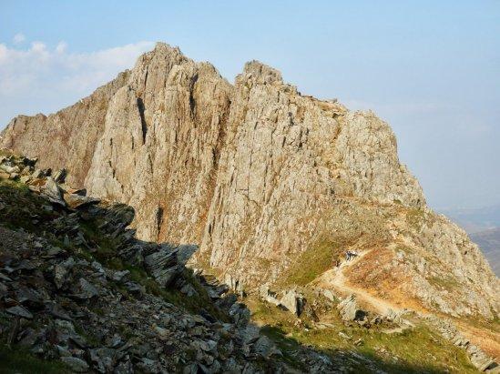 Crib Goch Scramble up Snowdon from Pen y Pass