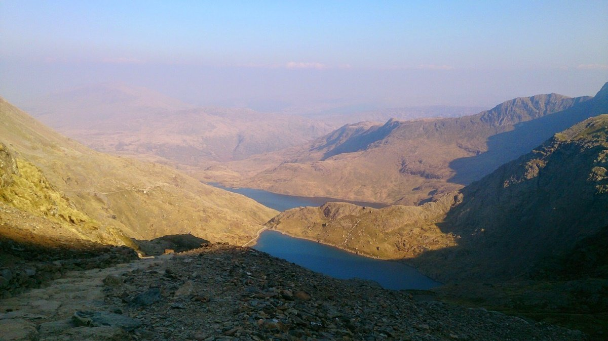 The Miner's Track up Snowdon
