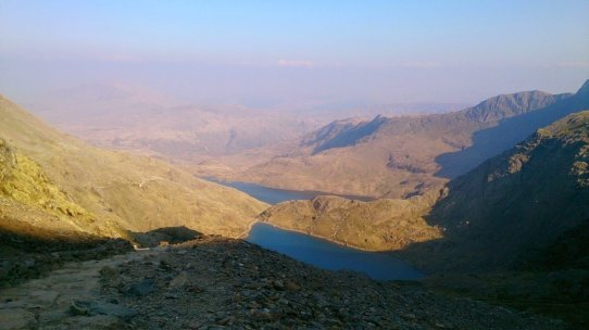 Walk up Snowdon via the Miners' Track