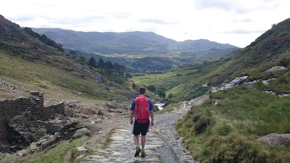 Walk up Snowdon via the Watkin Path