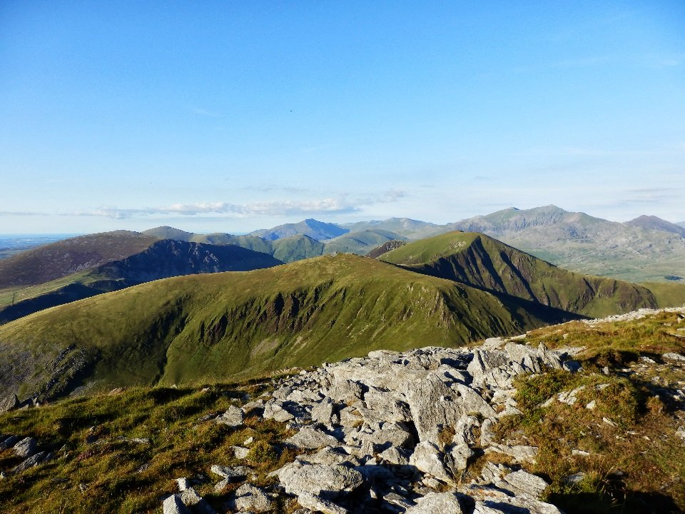 Walks Along the Nantlle Ridge