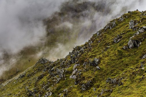 Walking in the Carneddau Snowdonia