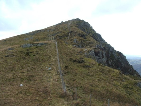 Walk up Snowdon Via the Llechog Ridge from Llanberis