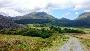 Clogwyn y Gwin Path up Snowdon