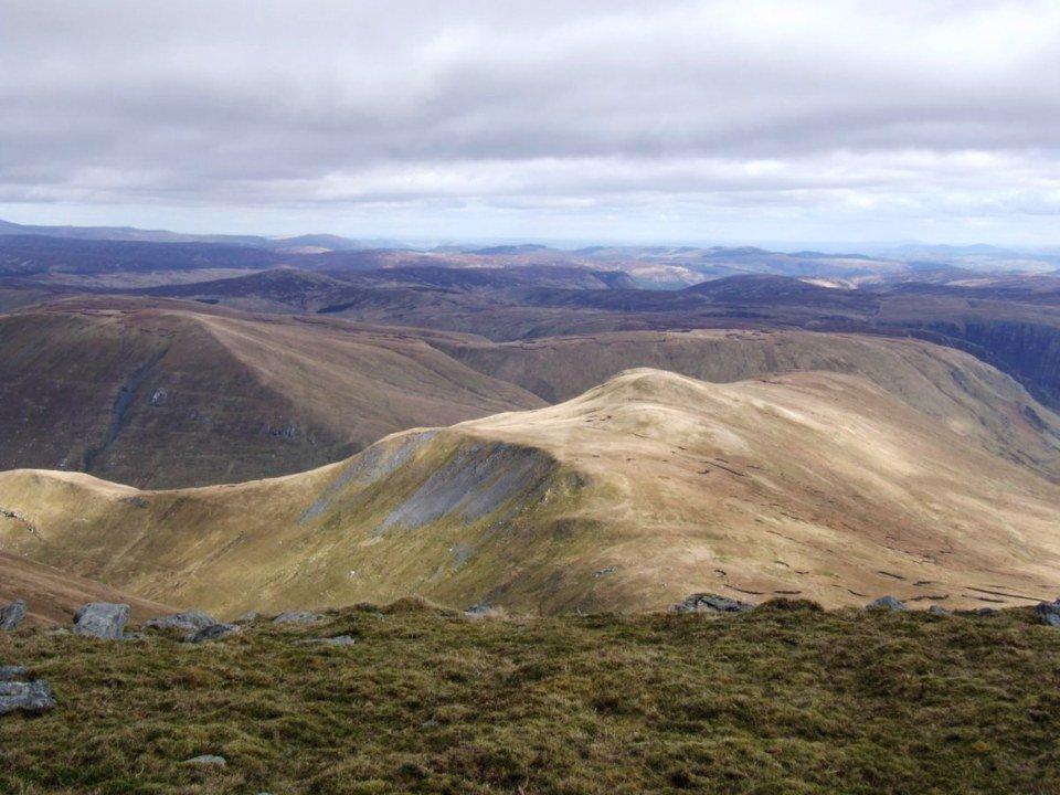 The Highest Mountains in Snowdonia Aran Fawddwy
