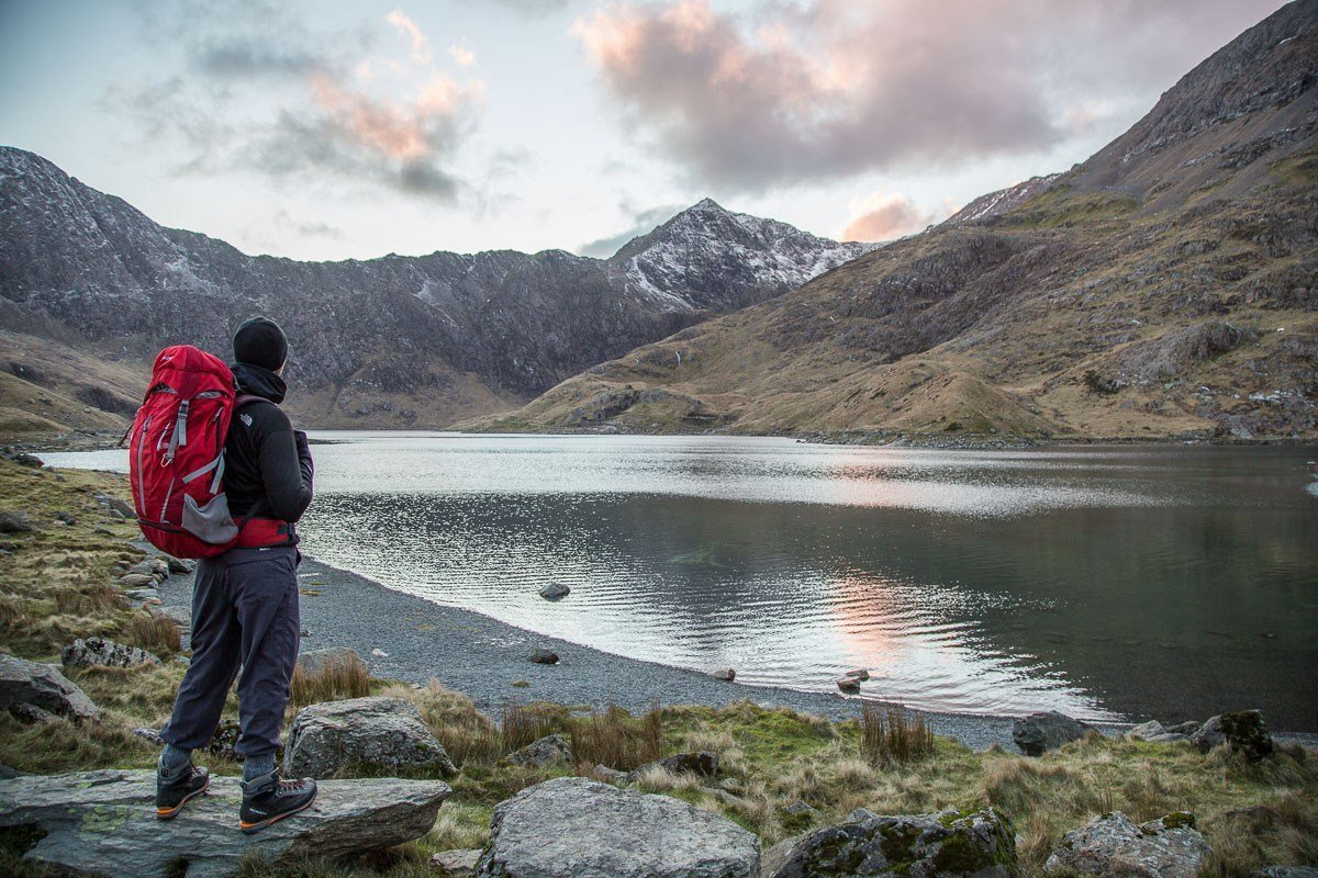 Easy Family Walks in Snowdonia - Llyn Llydaw