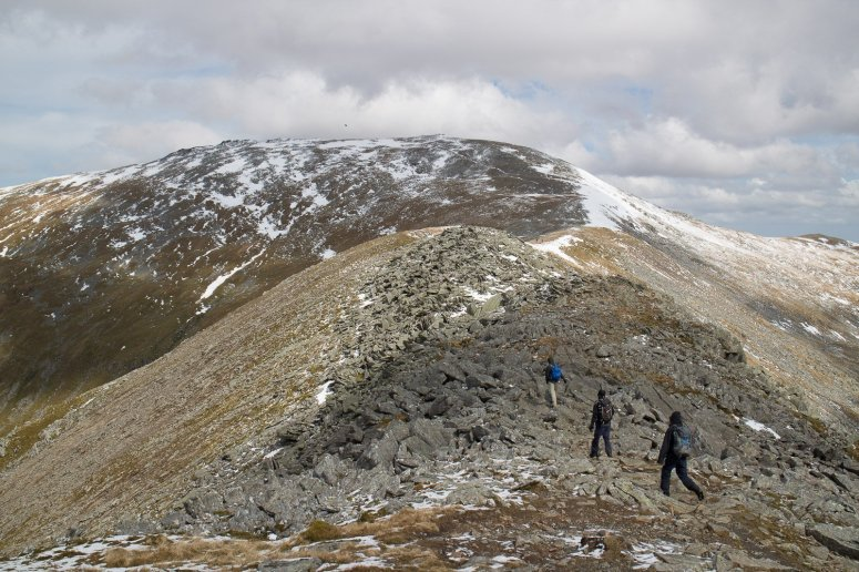 Walking in the Carneddau Snowdonia