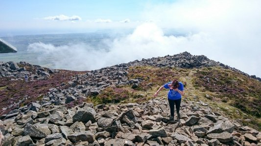 Easier Hill Walks in Snowdonia and North Wales - Yr Eifl