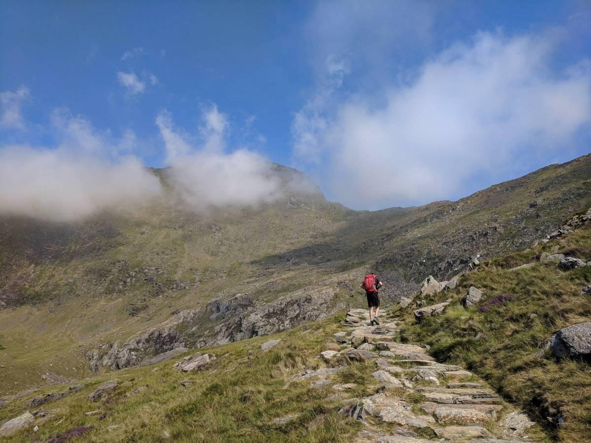 Watkin Path Walk up Snowdon