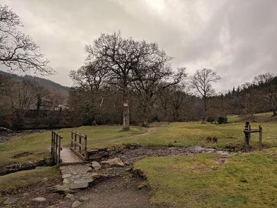 Easy Walks in Snowdonia - Rhaeadr Ewynnol - Swallow Falls from Betws y Coed