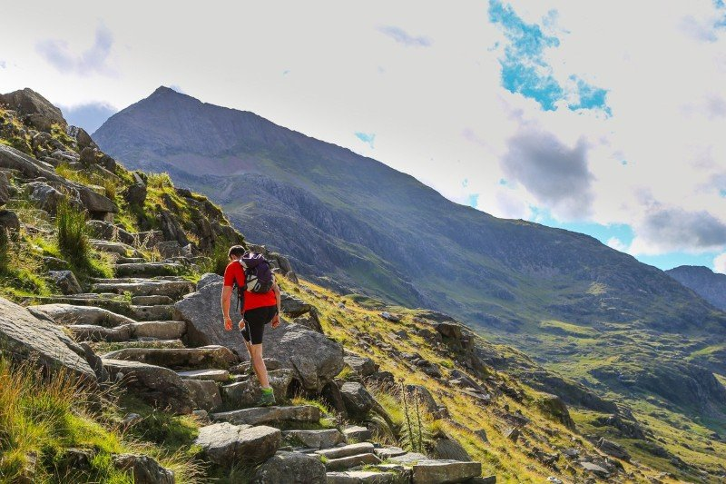 National 3 Peak Routes up Snowdon
