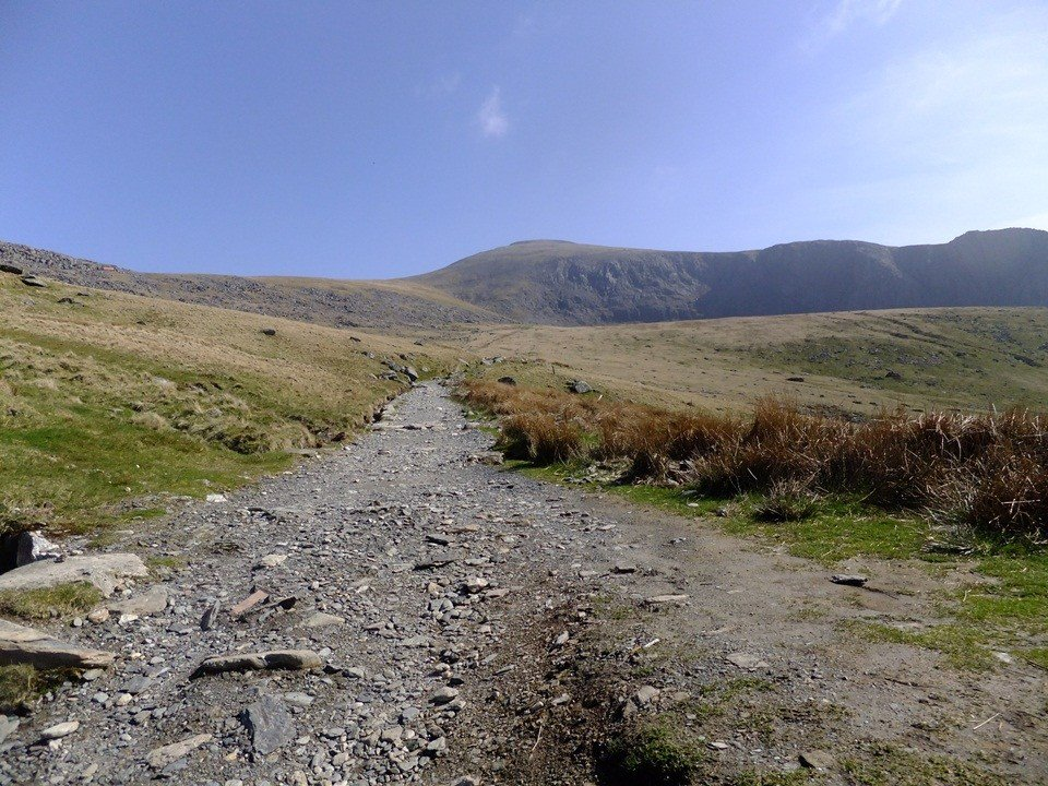 Llanberis Path as the Snowdon Three Peaks Route