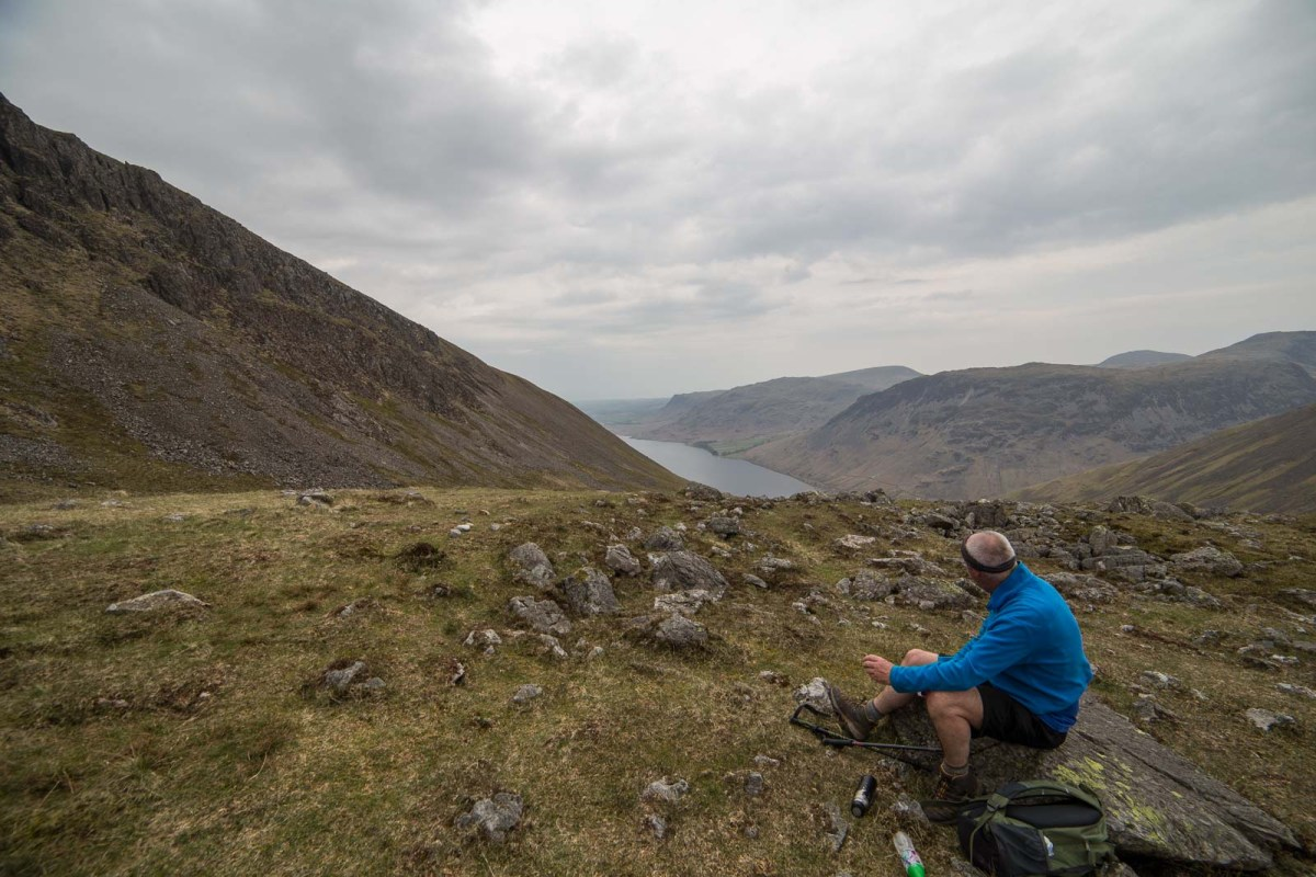 Scafell Pike National 3 peaks route from Wasdale