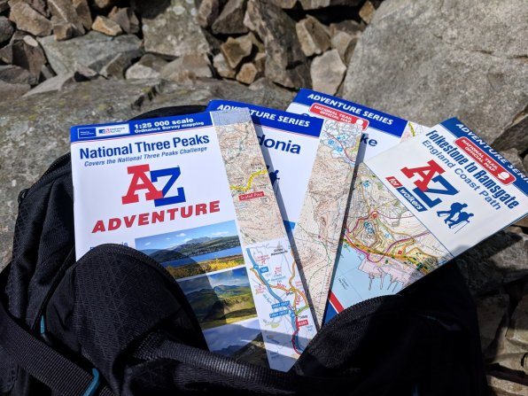 Best Maps and Guidebooks for the National 3 Peaks