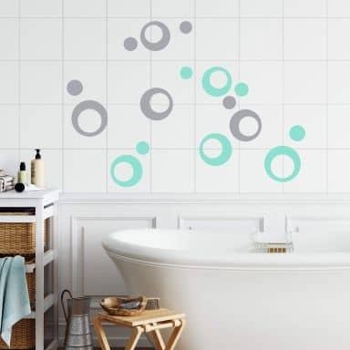 stickers muraux pour salle de bain