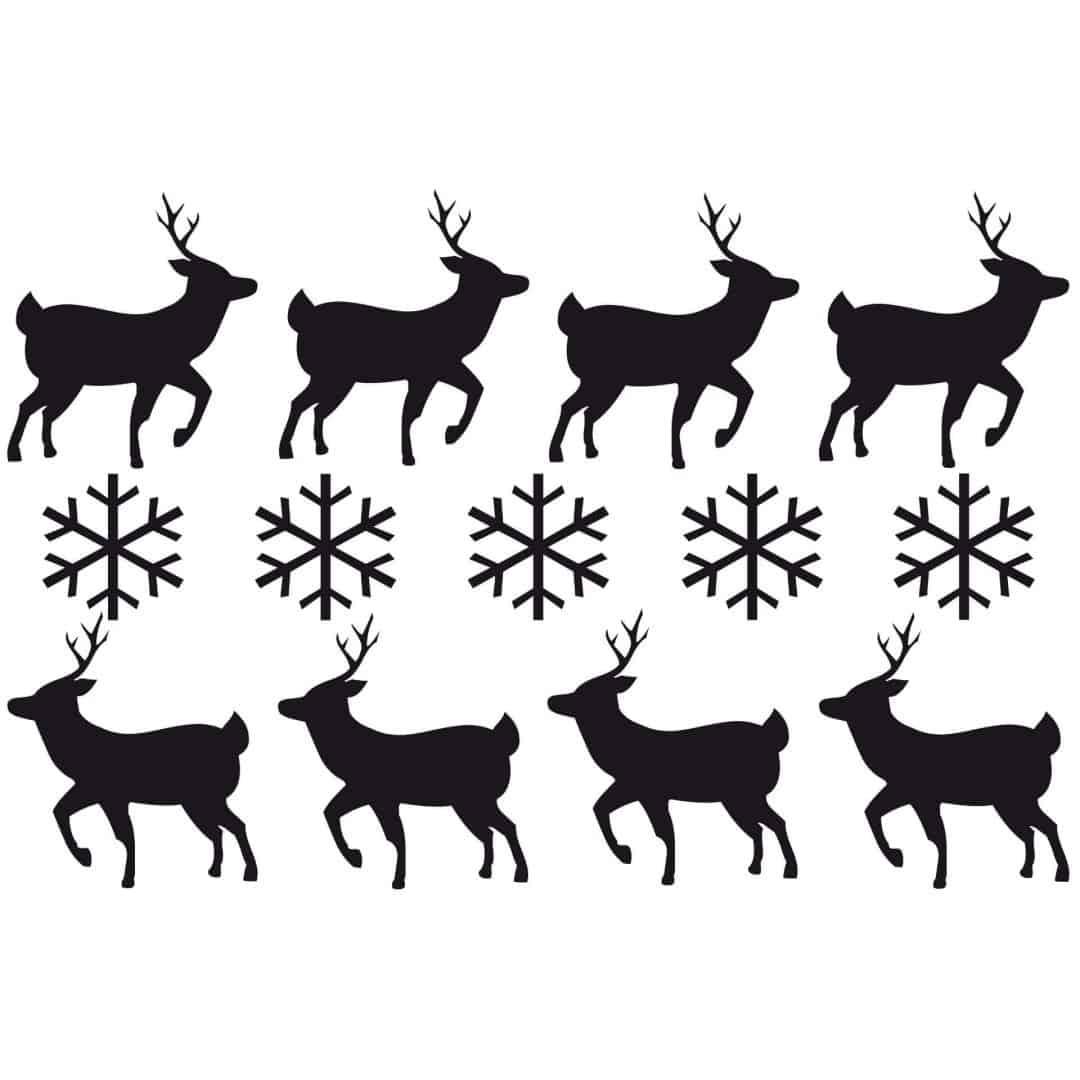 Deer Set Wall Sticker